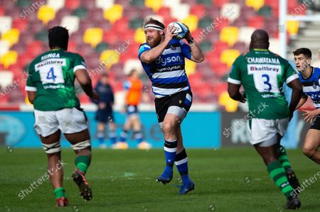 Editorial image of London Irish v Bath Rugby, UK - 27 Mar 2021