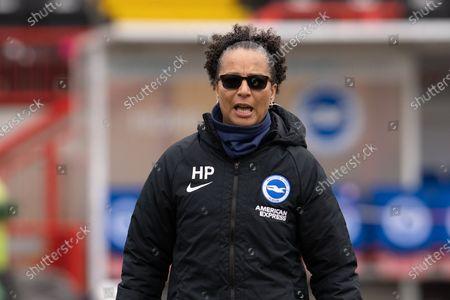 Editorial photo of Brighton and Hove Albion Women v Everton Women, FA Women's Super League - 28 Mar 2021
