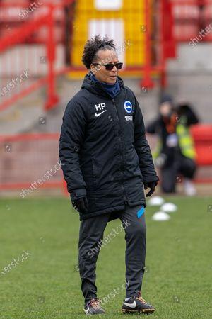 Editorial image of Brighton and Hove Albion Women v Everton Women, FA Women's Super League - 28 Mar 2021