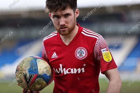 Stock Picture of Paul Smyth of Accrington Stanley during the Sky Bet League 1 match between Peterborough United and Accrington Stanley at Weston Homes Stadium, Peterborough on Saturday 27th March 2021.