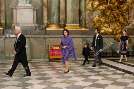 Editorial photo of Ceremony for Prince Julian, Royal Palace, Stockholm, Sweden - 28 Mar 2021