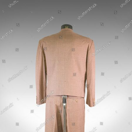 Editorial photo of David Bowie suit sold for £10,000, UK - 25 Feb 2021
