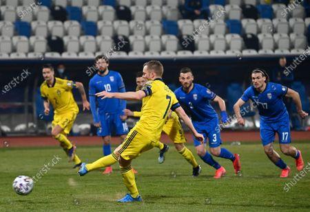 Editorial image of Kosovo vs Sweden, Pristina, Serbia - 28 Mar 2021