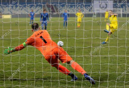 Editorial photo of Sweden WCup 2022 Soccer, Pristina, Kosovo - 28 Mar 2021