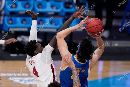 Editorial image of NCAA UCLA Alabama Basketball, Indianapolis, United States - 28 Mar 2021