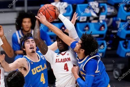 Editorial photo of NCAA UCLA Alabama Basketball, Indianapolis, United States - 28 Mar 2021