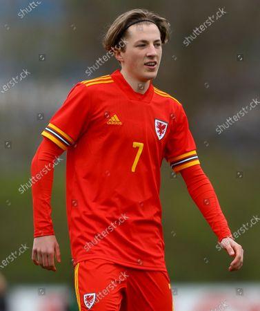 Charlie Savage of Wales Under 18s, son of Robbie Savage