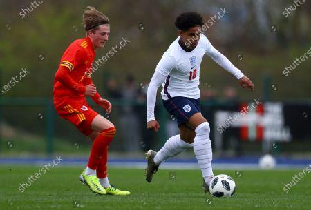 Editorial photo of Wales U18 v England U18, International Friendly, Football, The Leckwith Stadium, Cardiff, UK - 29 Mar 2021