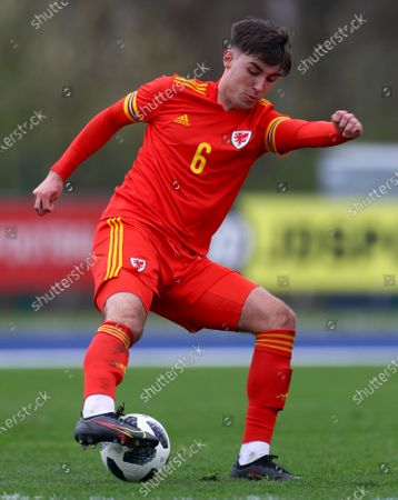 Stock Picture of Jay Williams of Wales Under 18s