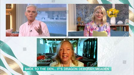 Phillip Schofield, Holly Willoughby and Deborah Meaden