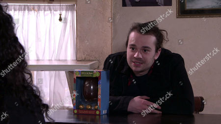 Coronation Street - Ep 10291 Monday 5th April 2021 - 1st Ep With a heavy heart, Nina Lucas, as played by Mollie Gallagher, tells Seb Franklin, as played by Harry Visinoni, they need to cool their relationship as they're hurting Asha.