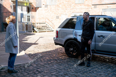 Coronation Street - Ep 10294 Wednesday 7th April 2021 - 2nd Ep Harvey, as played by Will Mellor, tells Leanne Tilsley, as played by Jane Danson, he was set up and someone grassed him up. With little choice, Leanne admits it was her.