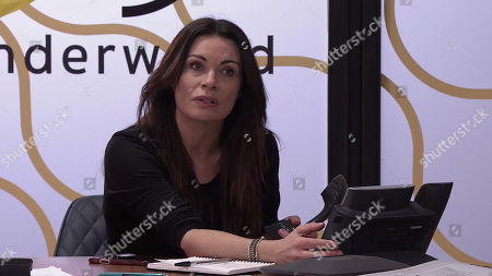 Coronation Street - Ep 10293 Wednesday 7th April 2021 - 1st Ep When Nick Tilsley reminds her they've got a meeting with Lucas, Carla Connor, as played by Alison King, insists he'll have to go it alone as she's not prepared to jeopardise her relationship with Peter.