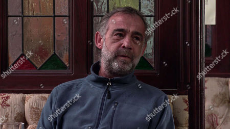Coronation Street - Ep 10298 Monday 12th April 2021 - 2nd Ep Kevin Webster, as played by Michael Le Vell, does his best to cheer up Tyrone Dobbs over a pint, but Maria Connor tears a strip off Tyrone for his treatment of Fiz. Kevin leaps to his mate's defence and is quick to point out that she's hardly a saint herself.