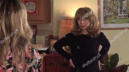 Coronation Street - Ep 10297 Monday 12th April 2021 - 1st Ep Gail Rodwell's, as played by Helen Worth, upset to learn that Nick's done a flit with Leanne and Simon without even saying goodbye.