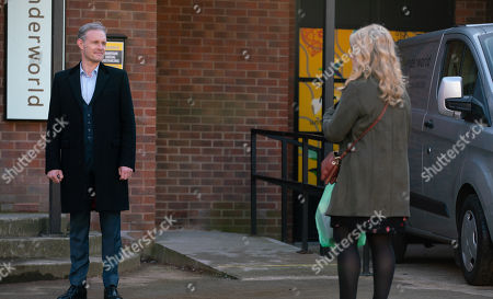 Coronation Street - Ep 10286 Monday 29th March 2021 - 2nd Ep Natasha Blakeman, as played by Rachel Leskovac, tells Nick Tilsley, as played by Ben Price, that she's changed her mind and he's welcome to stay with her and Sam.