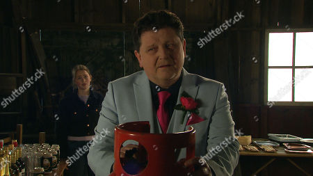 Emmerdale - Ep 9010 & Ep 9011 Thursday 1st April 2021 Liv Flaherty, as played by Isobel Steele, confronts Paul Ashdale, as played by Reece Dinsdale, in the wedding barn but has she put herself in grave danger? How will Paul react when he's confronted?