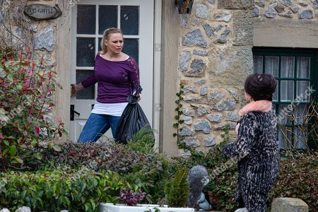 Emmerdale - Ep 9016 Thursday 8th April 2021 - 1st Ep Faith Dingle, as played by Sally Dexter, is taking over and Tracy Metcalfe, as played by Amy Walsh, feels she's lost control in her own home. Could it spell the end of Faith's residency with them?