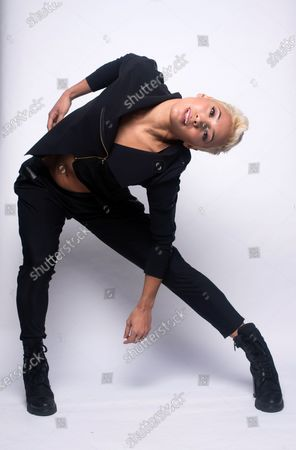 Stock Image of Karen Hauer of Strictly Come Dancing, portrait session at Blake Ezra Studio.