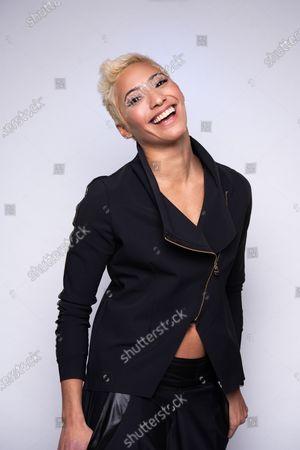 Editorial image of Karen Hauer photoshoot, Blake Ezra Studio, London, UK - 27 Jan 2021