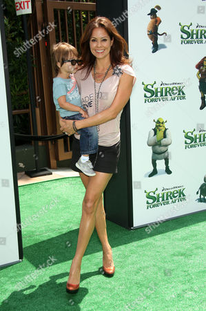 Brooke Burke and son Shaya
