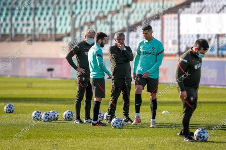 Editorial picture of Portugal training, Luxembourg - 29 Mar 2021