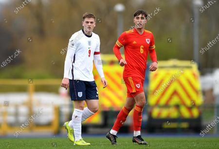 Editorial photo of Wales U18 v England U18 - Under 18 International Match - 29 Mar 2021