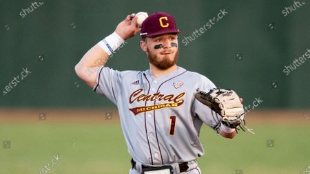 Editorial picture of Central Michigan Baseball, Athens, United States - 26 Mar 2021