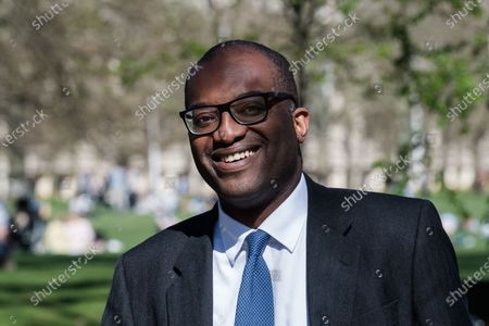 Editorial picture of Kwasi Kwarteng Out And About In London, United Kingdom - 29 Mar 2021
