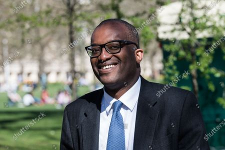 Editorial photo of Kwasi Kwarteng Out And About In London, United Kingdom - 29 Mar 2021