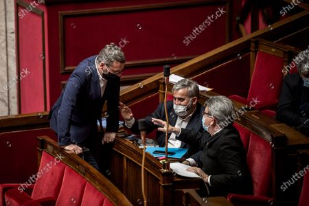 Editorial image of National Assembly, Climate Bill, Paris, France - 29 Mar 2021