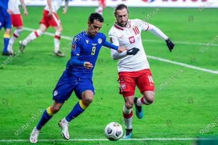 Editorial image of Poland Vs Andorra in Warsaw - 28 Mar 2021