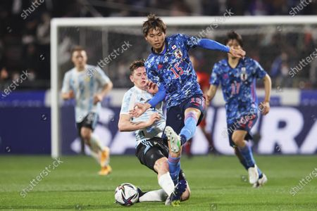 Koki Machida (JPN) - Football / Soccer :  SAISON CARD CUP 2021  match between U-24 Japan 3-0 U-24 Argentina  at Kitakyushu Stadium in Fukuoka, Japan.
