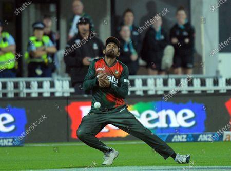 Editorial image of NZ Black Caps v Bangladesh, International T20 Cricket, McLean Park, Napier, New Zealand - 30 Mar 2021