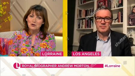 Editorial image of 'Lorraine' TV Show, London, UK - 30 Mar 2021