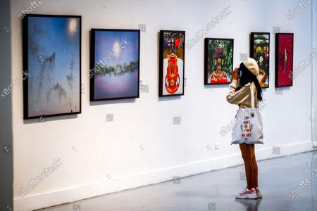 Editorial image of Exhibition of photographs by Thai Princess Sirindhorn in Bangkok, Thailand - 30 Mar 2021
