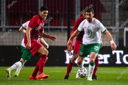 Editorial picture of Qatar v Republic of Ireland, International Football Friendly, Nagyerdei Stadion, Debrecen, Hungary - 30 Mar 2021