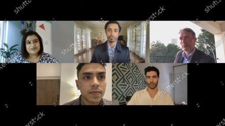 Riz Ahmed - Sound of Metal, Mads Mikkelsen - Another Round, Adarsh Gourav - The White Tiger and Tahar Rahim - The Mauritanian with host Mariayah Kaderbhai