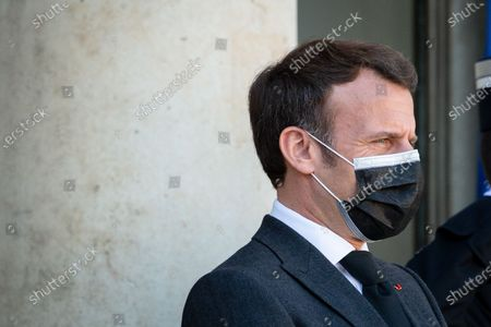 The President of the French Republic Emmanuel Macron