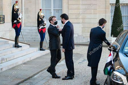 Editorial photo of President Macron receives Nechirvan Barzani, Elysee Palace, Paris, France - 30 Mar 2021