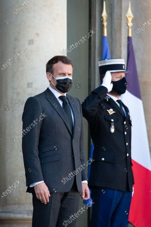 Editorial image of President Macron receives Nechirvan Barzani, Elysee Palace, Paris, France - 30 Mar 2021