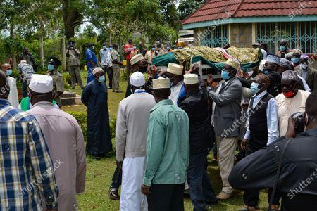 Editorial image of Funeral of Sarah Onyango Obama, the step grandmother of former US president Barack Obama, Kogelo, Kenya - 30 Mar 2021