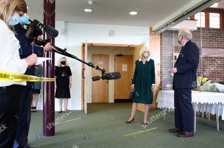 Editorial picture of Duchess of Cornwall visits East Sussex, UK - 30 Mar 2021