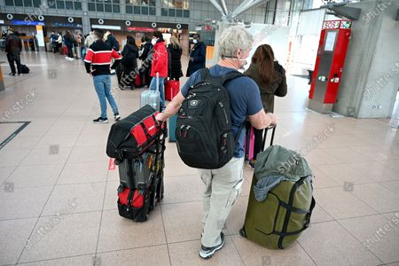 Editorial picture of Vacation travel at Helmut Schmidt Airport, Hamburg, Germany - 30 Mar 2021