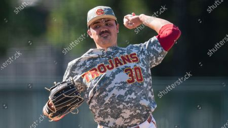 Editorial picture of USC Baseball, Los Angeles, United States - 28 Mar 2021