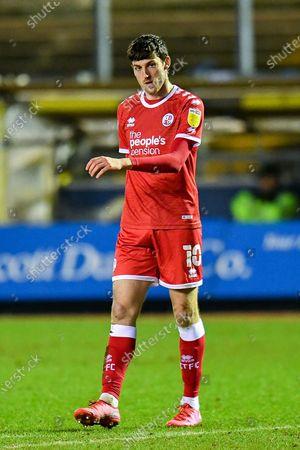 Ashley Nadesan (#10) of Crawley Town FC during the EFL Sky Bet League 2 match between Carlisle United and Crawley Town at Brunton Park, Carlisle