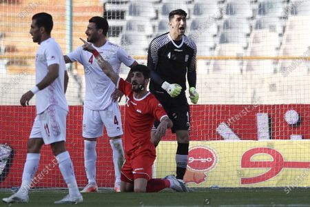 Stock Photo of Alireza Beiranvand (GK) of Iran