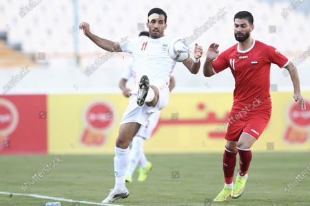 Editorial image of Iran v Syria, International Friendly match, Football Azadi Stadium in Tehran, Iran - 30 Mar 2021