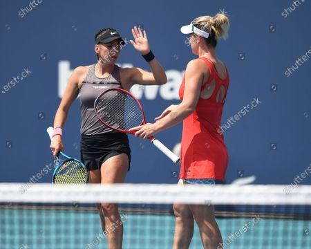 Editorial image of Miami Open tennis tournament, Hard Rock Stadium, Miami Gardens, Florida, USA - 30 Mar 2021