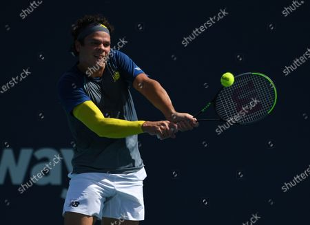 Stock Image of Milos Raonic